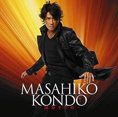 近藤真彦「-MOTTO-」の歌詞を収録したCDジャケット画像