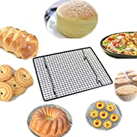 Baking Rack Stainless Steel Cooling Rack Non-stick Bakeware Heavy Duty Oven and Dishwasher Safe, 10 23cm