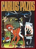 ポスター カルロス パゾス バンビ/Bambi Joan Prats Gallery 1993年 額装品 ウッドベーシックフレーム(レッド)