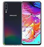 Samsung Galaxy A70 (SM-A7050) Dual SIM 6GB/128GB 6.7インチ SIMフリー [並行輸入品] (Black/ブラック)