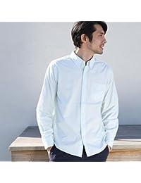 コーエン(メンズ)(coen) タイプライターストライプボタンダウンシャツ