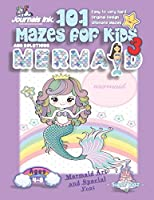 101 Mazes For Kids 3: SUPER KIDZ Book. Children - Ages 4-8 (US Edition). Mermaid and Rainbow custom art interior. 101 Puzzles with solutions - Easy to Very Hard learning levels -Unique challenges and ultimate mazes book for fun activity time! (Superkidz - 101 Mazes for Kids)