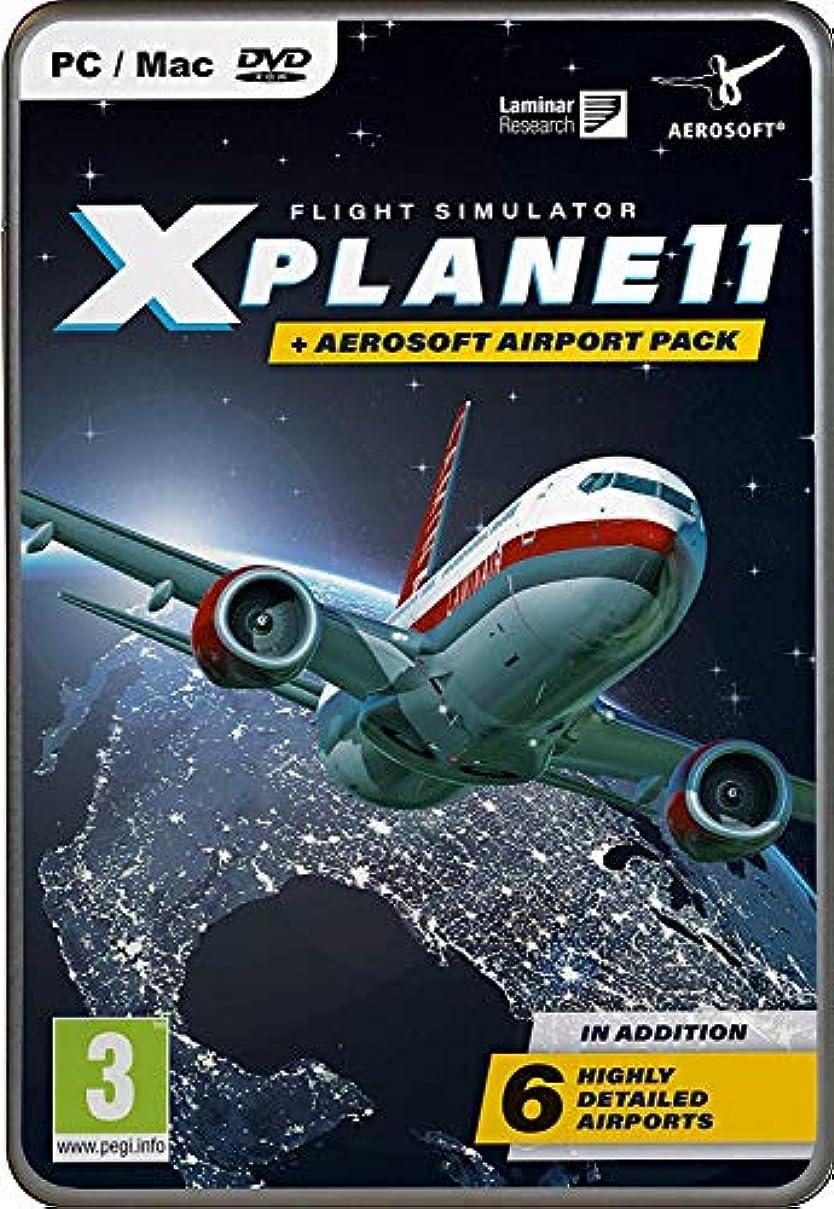 ウール司教さびたX-Plane 11 and Aerosoft Airport Collection (PC DVD) (輸入版)