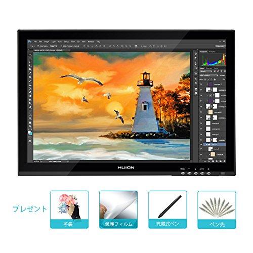 Huion 19インチサイズ液タブ WindowsとMacに両対応GT-190液晶ペンタブレット