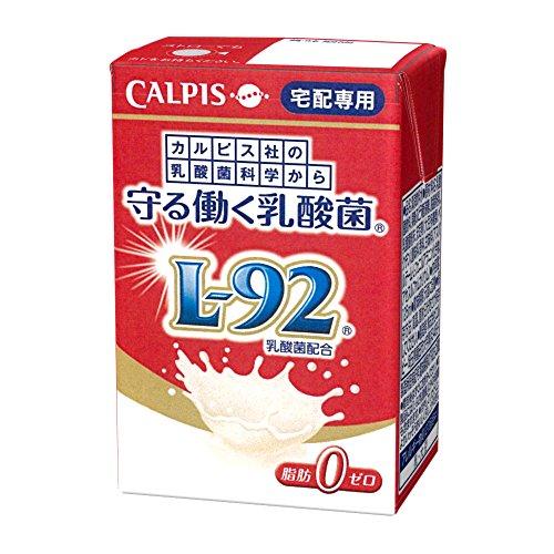 カルピス 守る働く乳酸菌 L-92乳酸菌配合 125ml×30本