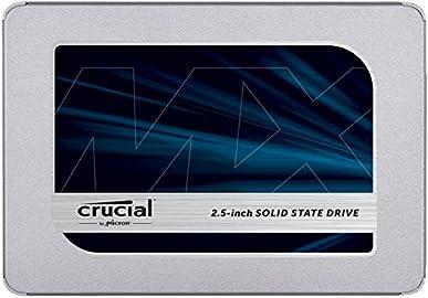 Crucial SSD 500GB 7mm / 2.5インチ MX500シリーズ SATA3.0 9.5mmアダプター付 CT500MX500SSD1/JP