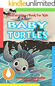 Baby Turtles: Before Bed Children's Book- Cute story - Easy reading Illustrations -Cute Educational Adventure . (English Edition)