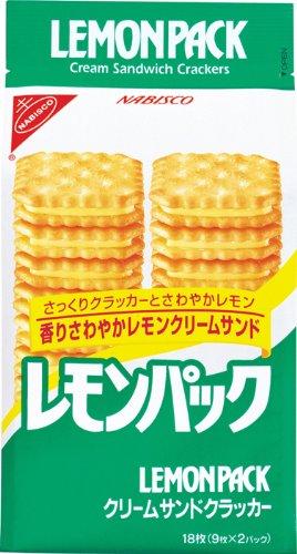 ヤマザキビスケット レモンパック 18枚×10個