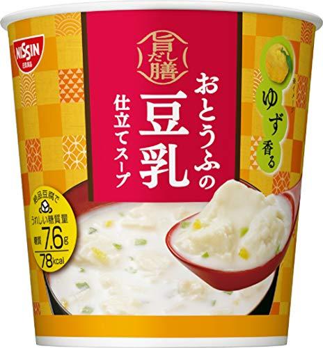 日清食品『旨だし膳おとうふの豆乳仕立てスープ』 (6個セット)