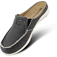 Mens Slippers with Thick Wool Fur Arch Support Inserts for Winter, House Slippers for Men Casual Warm Shoes Indoor Outdoor