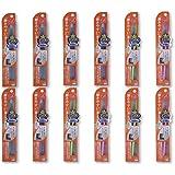 歯ブラシ職人Artooth®田辺重吉 磨きやすい歯ブラシ(奥歯まで)先細 LT-12(12本入)