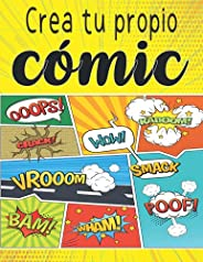 Crea tu propio cómic: Dibuja cómics e impresiona a todos los que te rodean con tu talento y creatividad | dise