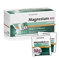 【Sanct Bernhard】サン・ベルナール Magnesium 400 direct powder マグネシウム400ダイレクトパウダードイツ産 栄養補助食品 [並行輸入品]