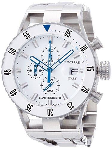 [ロックマン] 腕時計 MONTECRISTO DIVER 051200WBWHNKBR0 正規輸入品 シルバー