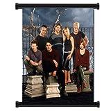 Buffy the Vampire Slayer TV Showファブリック壁スクロールポスター( 16