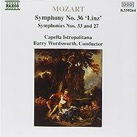 Sinfonien 27+33+36 ''linz