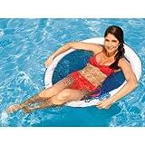 Best Swimwaysプールおもちゃ - Swimways Spring Float Papasan スプリング フロート(青/白)【並行輸入品】 Review