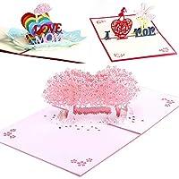 ポップアップカード 母の日 令和 グリーティングカード メッセージカード 感謝状 バレンタインカード 桜 誕生日カード 感謝祭 母の感謝の気持ち 封筒付き 立体ポップアップカード