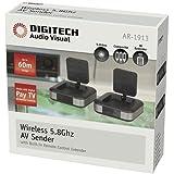 Wireless 5.8GHz AV Video Audio Sender Transmitter Receiver W/ IR EXT FOXTEL IQ2