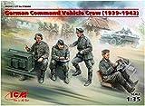 ICM 1/35 ドイツ陸軍 装甲指揮車 クルー 4体入り(1939年-1942年) プラモデル 35644