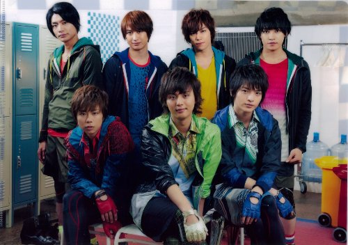 Kis-My-Ft2(キスマイ)公式グッズKis-My-Ft2 Good Live Tour いくぜ! クリアファイル【集合】&公式生写真【藤ヶ谷太輔】セット