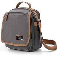 Small Canvas Messenger Bag Purse Anti RFID Crossbody Shoulder Satchel Bag