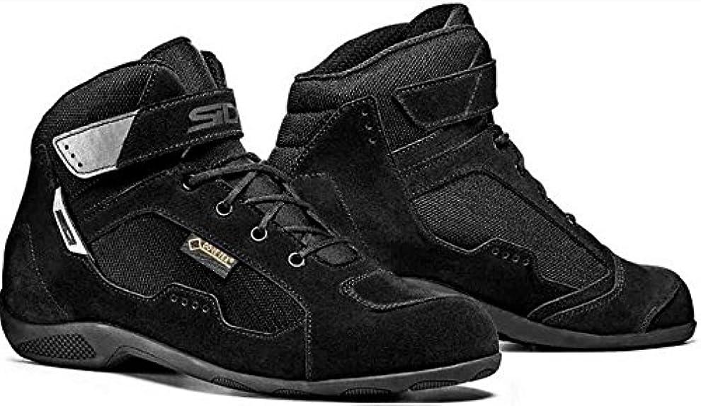ぬるい近代化するヒステリックSidi シディ DUNA GORE-TEX BOOTS ライディングブーツ ブラック 46(約28cm)