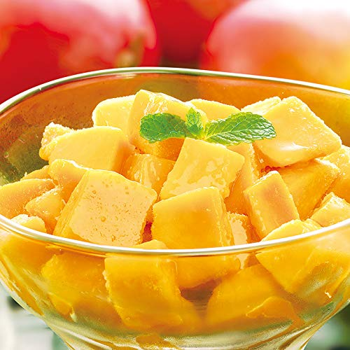 [餃子の王国]冷凍マンゴー 1キログラム (「生」のマンゴーをひと口サイズにカット、そのまま急速冷凍しました)