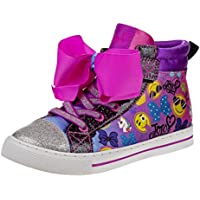 JoJo Siwa Girls All Over Print High Top Fashion Sneakers (Toddler/Little Kid/Big Kid)