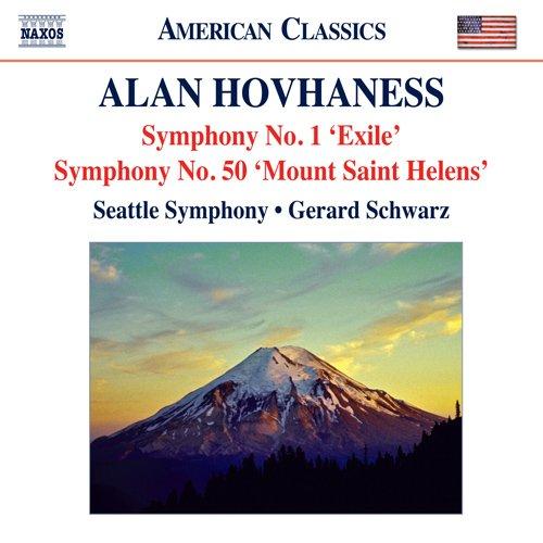 ホヴァネス:交響曲第1番「追放者」・第50番「セント・へレンズ山」/日本の木版画による幻想曲