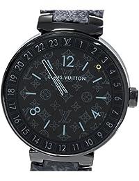 [ルイ・ヴィトン]LOUIS VUITTON 腕時計 タンブール・ホライゾンブラック スマートウォッチ QA002 メンズ 中古