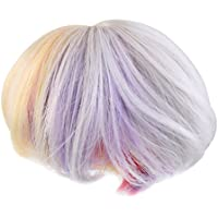 Dovewill 全6種類 1/3 1/4 BJD SDドール適用  DIYメイキング 装飾 美しい ウィッグ ヘア  ヘアピース  かつら 髪  - #1, 1/3BJD SD用