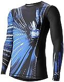 (シーダブリューエックス)CW-X トップス 長袖 丸首 / JYURYU レボリューションタイプ 吸汗速乾 UVカット JAO001 [メンズ]