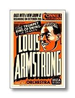 ジャズポスター ルイ・アームストロング Louis Armstrong: Connie's Inn NYC, 1935