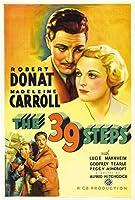 39のステップの映画ポスター印刷のサイズ約12X8インチ