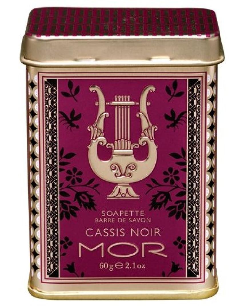 以内にフランクワースリー風刺MOR(モア) リトルラグジュアリーズ プチソープ カシスノアール 60g