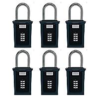 secure-a-key 6700W選択アクセスキーストレージボックスwith set-your-own組み合わせロックボックス、不動産 ブラック 6700W