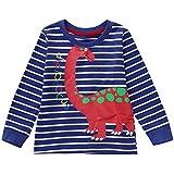 OVERMAL 1PCティーシャツ+1PCズボン 犬 子供服 部屋着 プレゼント カートゥーン 男の子 女の子 キッズ 赤ちゃん服 長袖 人気 丸首 カジュアル