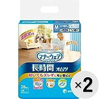 【セット販売】マナーウェア 長時間オムツ 小~中型犬用 M 28枚入×2コ