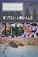 Totem Animals - Sandpiper: Composition Book, Motivational Notebook, Journal, Diary (110 Pages, Blank, 6 x 9)