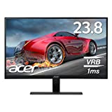Acer ゲーミングモニター RG240Ybmiix 23.8インチ/IPS/非光沢/1920x1080/フルHD/16:9/250cd/1ms/ブラック/HDMI1.4×2/ミニD-Sub 15ピン
