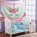 ユニコーン タペストリー バルーン 子供 誕生日 パーティー 風船 飾り 記念日 クリスマスギフト 部屋 装飾 ピンク 可愛い
