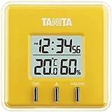 タニタ デジタル温湿度計 置き掛け両用タイプ/マグネット付 イエロー TT-550-YL