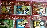 ワンピース 麦わらストア 限定 板チョコ缶バッジ 全6種 ルフィ ゾロ ロー サンジ サボ エース