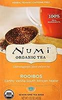 Numi Tea 19372-3pack Numi Tea Rooibos Herb Herbal Tea - 3x18 bag