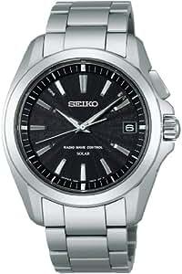 [セイコー]SEIKO 腕時計 BRIGHTZ ブライツ ソーラー電波修正 サファイアガラス スーパークリア コーティング 日常生活用強化防水 (10気圧) COMFOTEXコンフォテックス SAGZ077 メンズ