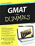 Cover of Gmat for Dummies, Premier 6th Edition with CD