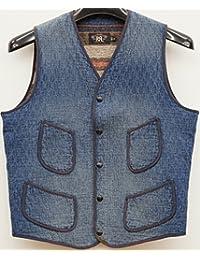 (ダブルアールエル) RRL Badgett コットンブレンド ベスト メンズ Vest 並行輸入品 [並行輸入品]