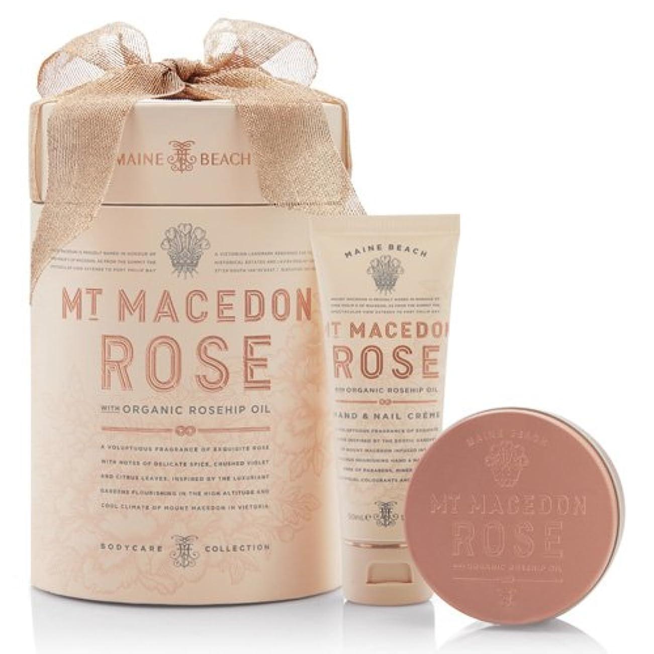 バスレベル永続MAINE BEACH マインビーチ MT MACEDON ROSE マウント マセドン ローズ Duo Gift Pack