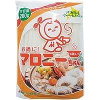 マロニー お鍋にマロニーちゃん 太麺 200g
